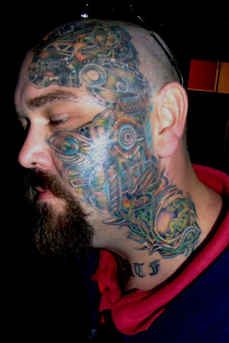 Tattoos: Taking It To The Face